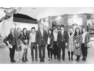 北大法学院外国留学生参观中海油