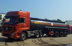 20立方硫酸、盐酸运输车 正圆罐体 满足新法规